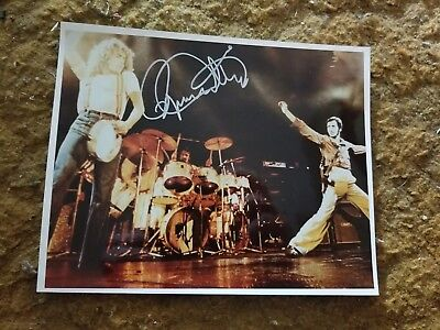 Roger Daltrey Signed 8X10 Photo The Who Rock And Roll Hofer W/Coa+Proof Rare Wow
