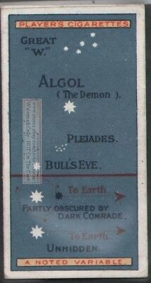 Twinkle Stars  Astronomy  100+ Y/O Trade Ad Card