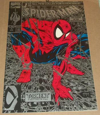 Spider-Man #1 NM (1990) Silver Cover Edition  Todd McFarlane Cover & Art