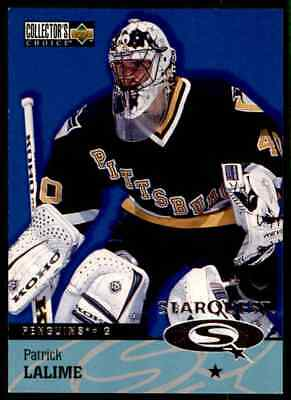 1997-98 Collector's Choice Star Quest Patrick Lalime #SQ40