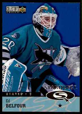 1997-98 Collector's Choice Star Quest Ed Belfour #SQ36