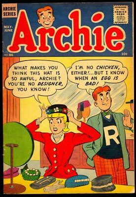 Archie #86 1957 Betty Cover