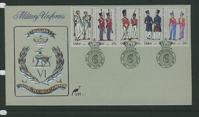 Ciskei 1983 Military Uniforms First Day Cover 1.8