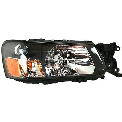 Halogen Headlight For 2003-2004 Subaru Forester Right w/ Bulb