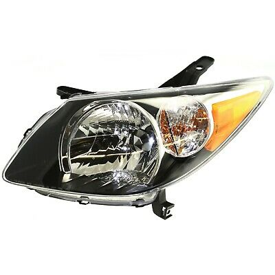 Headlight For 2003-2004 Pontiac Vibe Driver Side w/ bulb