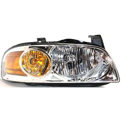 Halogen Headlight For 2004-2006 Nissan Sentra Right w/ Bulb(s) W/Chrome Interior