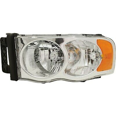 Halogen Headlight For 2002-2005 Dodge Ram 1500 Left