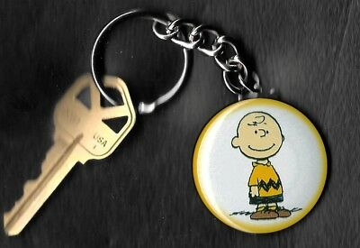 CHARLIE BROWN of Peanuts Charlie Brown by Charles Schulz Key Chain KEYCHAIN