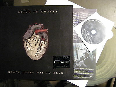 """Alice In Chains """"black Gives Way To Blue"""" - 2Lp + Cd + Clear Vinyl"""