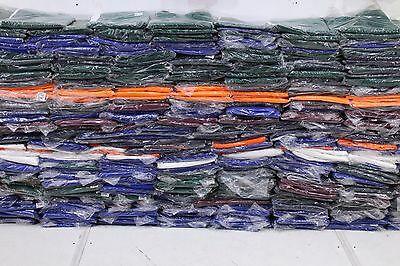 Job Lot 50 Mixed Pairs British Made Men's Work Trousers Good Mix Size & Colour