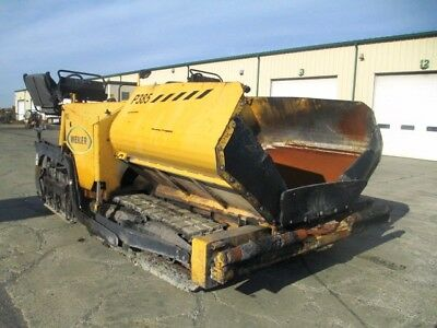2014 Weiler P385A Asphalt Paver, Electric Heat, Caterpillar Diesel, 1862 Hours