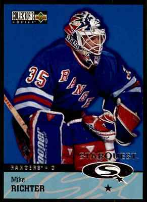 1997-98 Collector's Choice Star Quest Mike Richter #SQ30