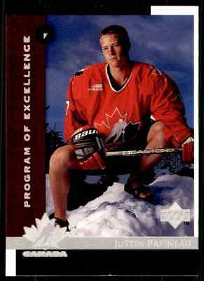 1997-98 Upper Deck Justin Papineau Rookie #415
