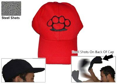 RedKnuckle Self Defense Baseball Hat Cap Low Profile Weighted Impact Tool