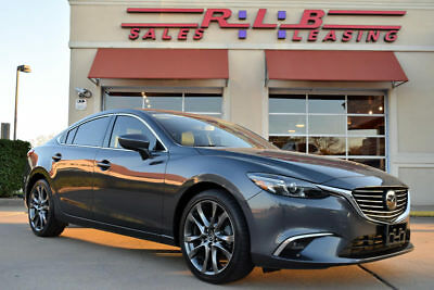 2016 Mazda Mazda6 GT Sedan 4-Door 2016 Mazda Mazda6 Grand Touring With GT Technology Package And Navigation