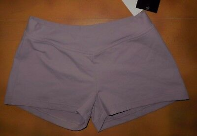NWT Defect Dance Bloch Lilac V Front Booty Shorts Ladies Small Adult R4604