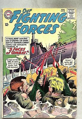 Our Fighting Forces #86-1964 vg/gd Kubert Gunner & Sarge