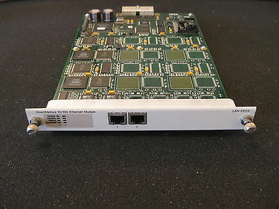 Spirent Smartbits LAN-3102A 10/100Base-T Ethernet Copper, 2prt, SmartMetrics mod