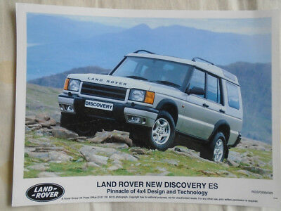 Land Rover Discovery ES press photo Sep 1998