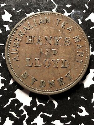 Undated Australia Penny Token Iredale & Co Lot#JM057 Scarce! KM#Tn135