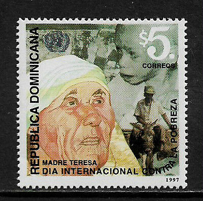 Dominican Rep #1262 Mint Never Hinged Stamp - Mother Teresa