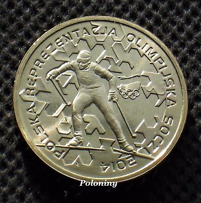 Coin Of Poland -2014 Winter Olympic Games Sochi Russia