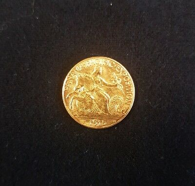 1915-S Panama-Pacific Exposition Gold $2.5 Commemorative Coin. - DP1