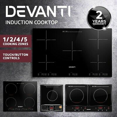 5 Star Chef Electric Induction Cooktop Kitchen Cooker Ceramic Cook Top Burner