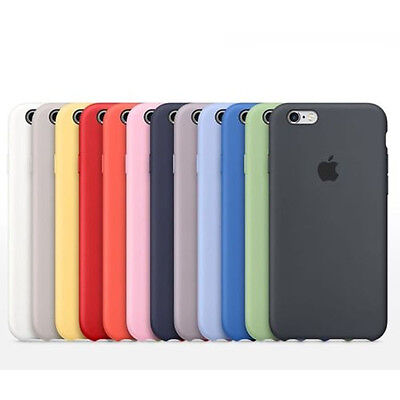 ORIGINAL Ultra-fine Coque Silicone Housse pour Apple iPhone 6 6S / 6S Plus