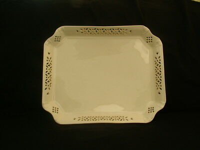 Royal Creamware Classics large rectangular tea tray