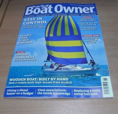 Practical BoatOwner magazine JAN 2018 Built from Scratch, Stay in Control, Tenby