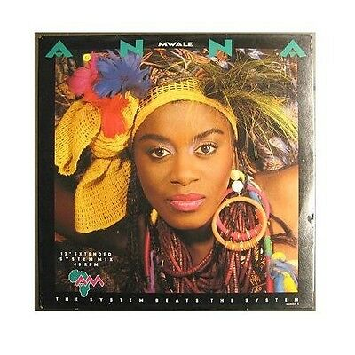 """Anna Mwale """"system Beats The System"""" 12"""" Maxi Single"""
