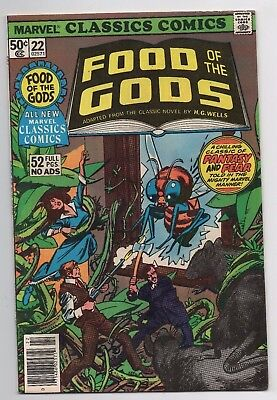 Marvel Classics Comics Food of the Gods #22 Bronze Age
