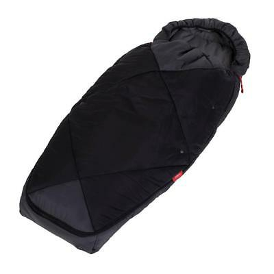 phil & teds Snuggle & Snooze Sleeping Bag (Charcoal) - Baby Cosytoes Footmuff