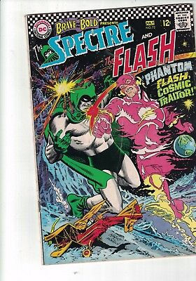 dc Brave & The Bold#72/4th App Of The Spectre/Spectre And The Flash/1967 12c