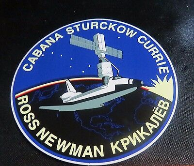 SHUTTLE ENDEAVOUR STS-88 DECAL STICKER 4  INCHES
