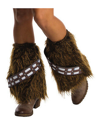 Star Wars Chewbacca Wookiee Faux Adult Womens Fluffies Legwear Boot Toppers