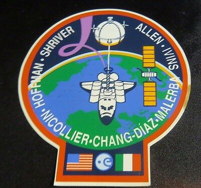NASA Space Shuttle STS-46 1992 Atlantis Space Shuttle Missioni Decal Sticker