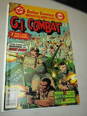 GI COMBAT #202 Classic ADAMS HEATH GIANT ISSUE ACTION PACKED COVER
