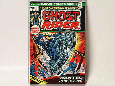 GHOST RIDER issue #1 Marvel Comics 1973 VF/NM 1st Son of Satan, 1st Solo C$