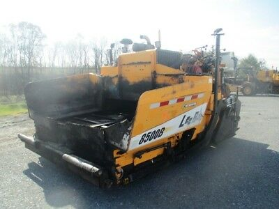 2011 Leeboy 8500B Asphalt Paver, Electric Heat, Caterpillar Diesel, 3602 Hours