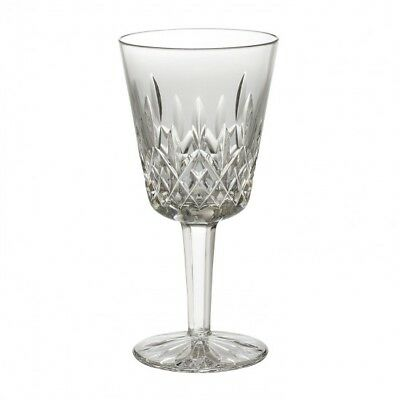 "Waterford Crystal Lismore Water / Wine / Goblet Glass 6 7/8"" - Mint"