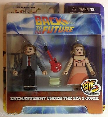 RARE! Back To The Future MINIMATES SDCC Exclusive 2 figures MIB 2007 Marty McFly