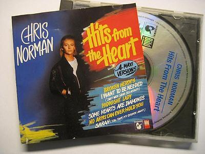 "Chris Norman ""hits From The Heart"" - Cd - Smokie"