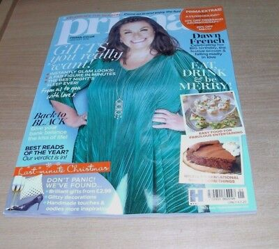 Prima magazine JAN 2018 Dawn French, Gifts you Really Want, Best Reads & more