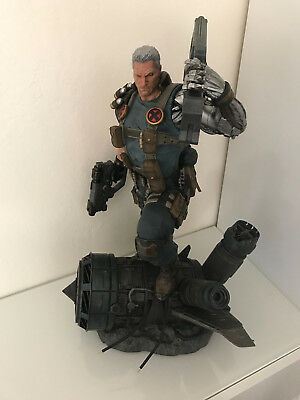 XM Studios Cable 1/4 Statue Exclusive - With Switch Outs and Art Print