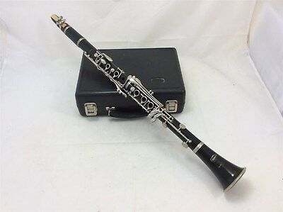 Selmer Bundy Eb Soprano Clarinet Resonite Woodwind Musical Instrument Cased