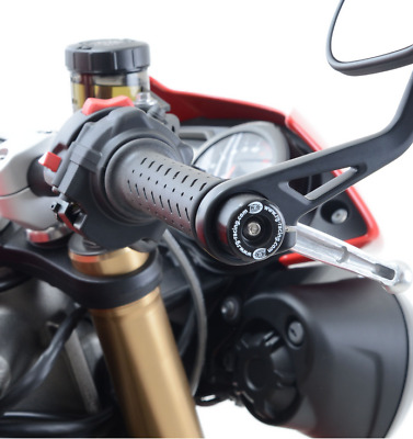 R&G Racing Bar End Sliders to fit Triumph Street Triple RS 765 2017-2018