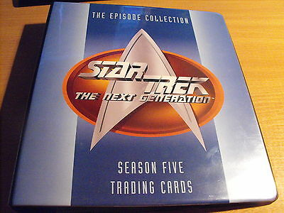 Star Trek The Next Generation Season Five Master Set