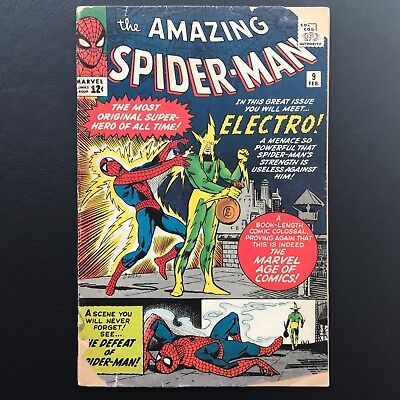 The Amazing Spider-Man #9 - Collection 1st App. of Electro Spidey ASM Marvel